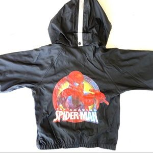 Unique MARVEL SPIDERMAN Rainproof Set, Rare, 3-4T